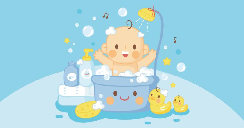 寶寶洗澡樂