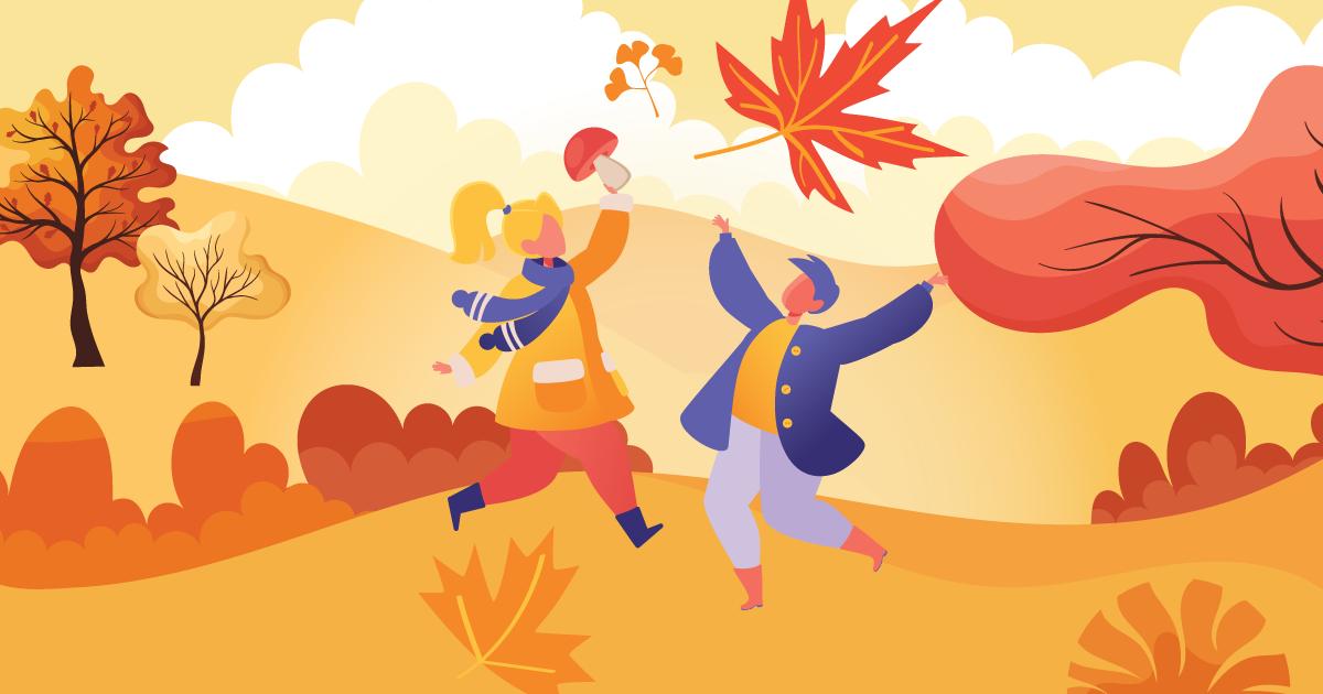 秋天氣息的精油V