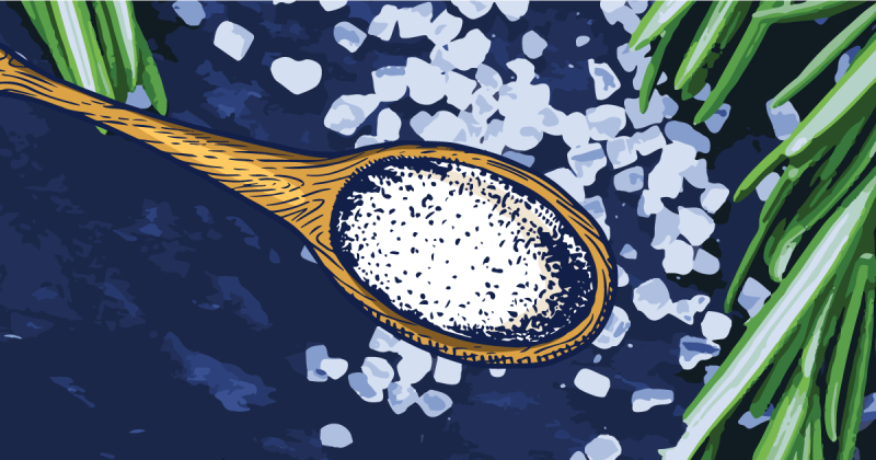 神奇的一小撮:怎麼用精油作出迷人的香料海鹽