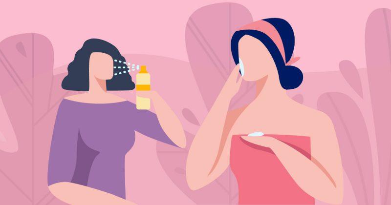 脫下口罩 毋忘護膚基本步