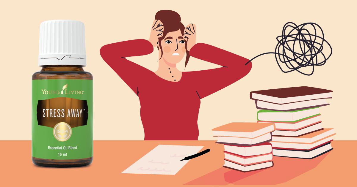 Stress Away樂自在精油8個日常使用方法