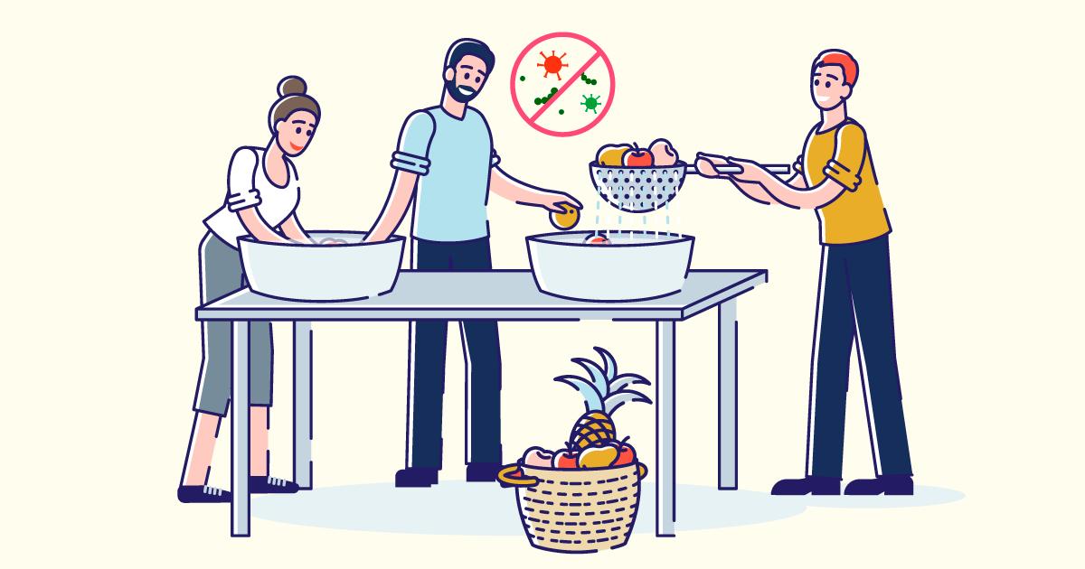清洗蔬果食得健康